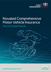 Novated Comprehensive Motor Vehicle Insurance