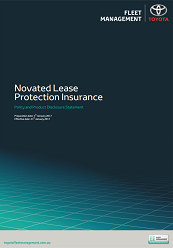 Novated Lease Protection Insurance