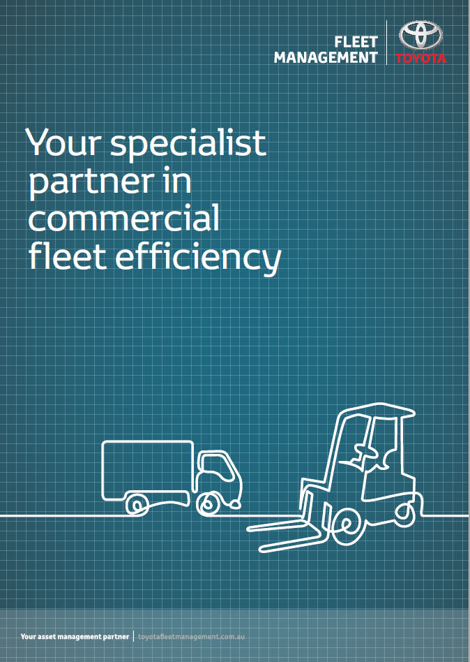 Commercial Vehicle Brochure - Toyota Fleet Management