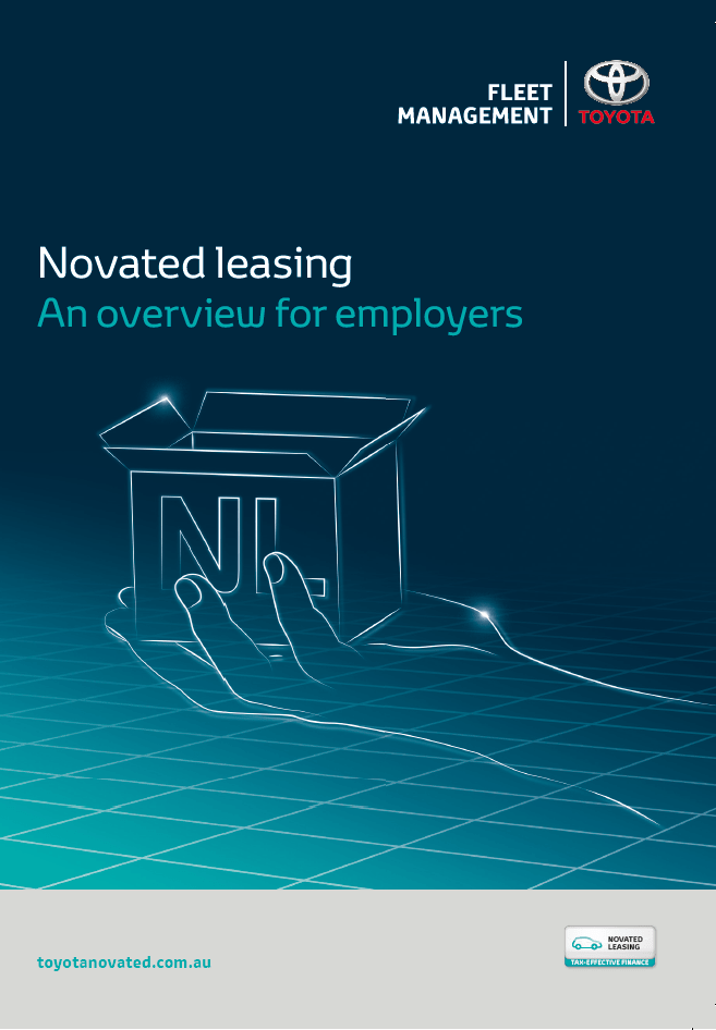 Novated Leasing overview employers