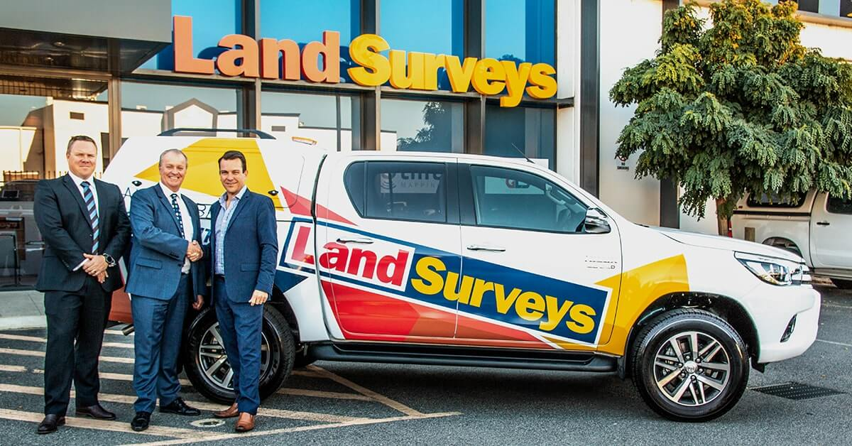 Land Surveys celebrates new contract with TFM