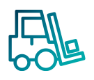 Toyota Fleet Management Material Handling Icon